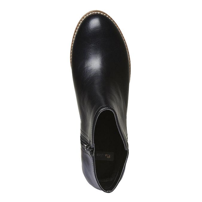 Kotníčkové kozačky bata, černá, 691-6271 - 19