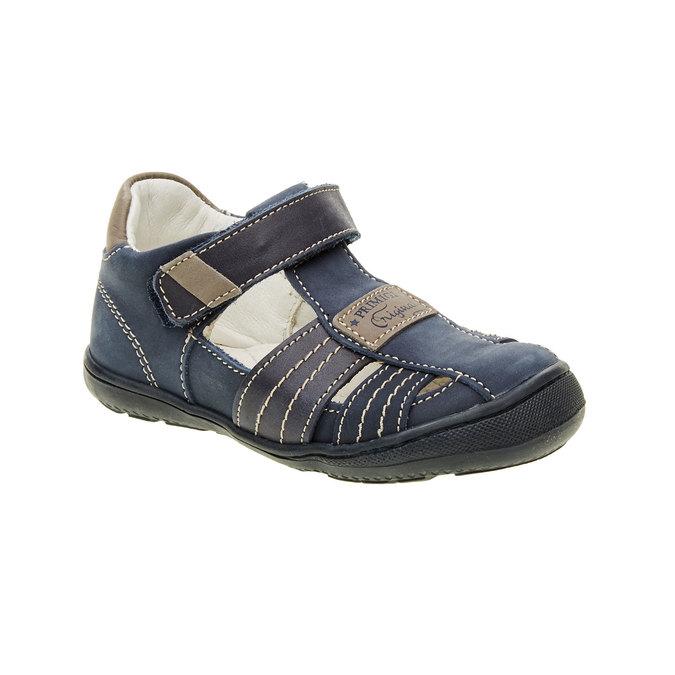 Dětské kožené sandály primigi, modrá, 113-9009 - 13