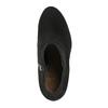 Kotníčkové kozačky z broušené kůže clarks, černá, 793-6001 - 19