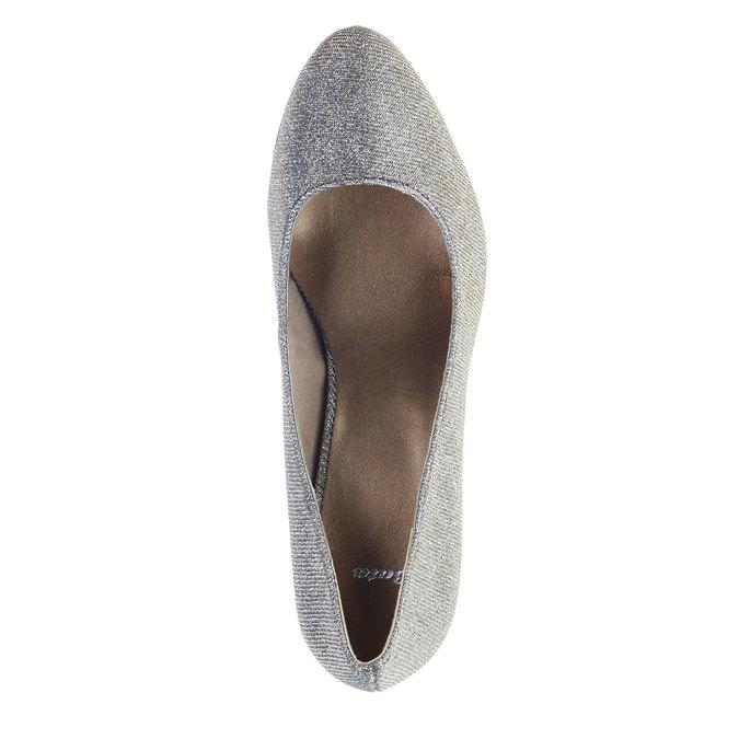 Lodičky na vysokém podpatku bata, stříbrná, 721-1101 - 19