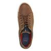 Pánské kožené tenisky bata, hnědá, 826-3651 - 19
