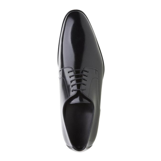 Pánská obuv ve stylu Derby lloyd, černá, 824-6338 - 19