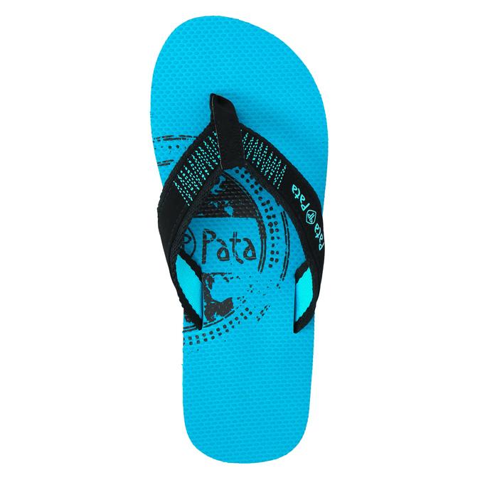 Pánské žabky pata-pata, modrá, 881-9601 - 19