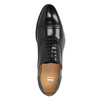 Kožené polobotky v Oxford střihu bata, černá, 824-6642 - 19
