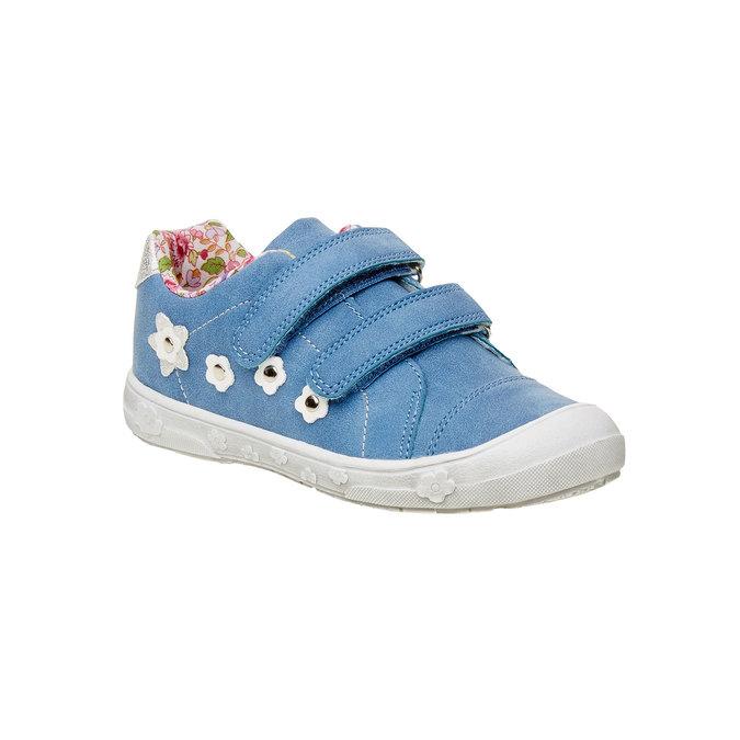 Dívčí tenisky na suché zipy mini-b, modrá, 221-9161 - 13