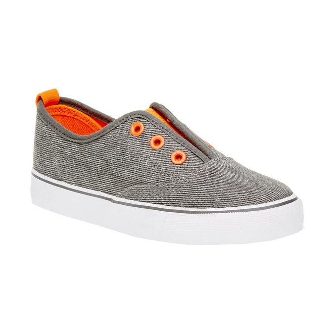Dětské Plim Soll boty mini-b, šedá, 319-2150 - 13