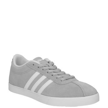 Šedé dámské tenisky z broušené kůže adidas, šedá, 503-2201 - 13