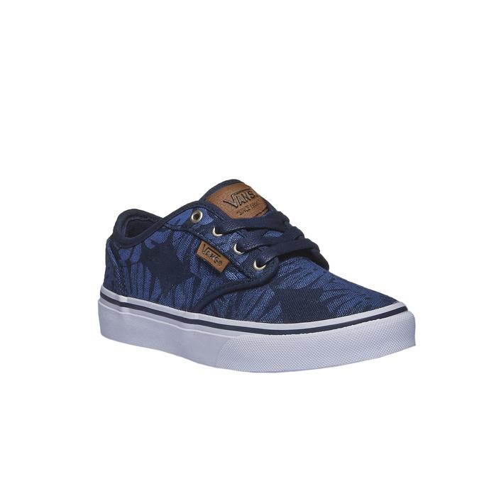 Dětské tenisky s potiskem vans, modrá, 489-9198 - 13