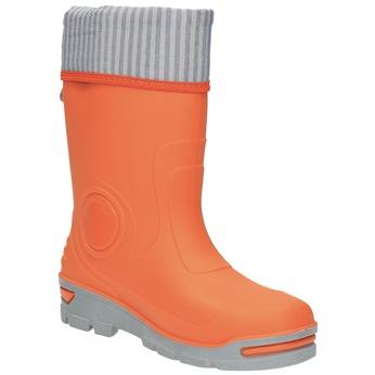 Dětské oranžové holínky mini-b, oranžová, 292-8200 - 13