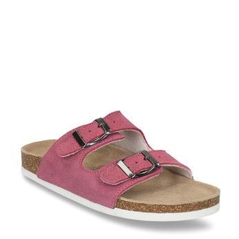 Dětské růžové pantofle de-fonseca, růžová, 373-5600 - 13