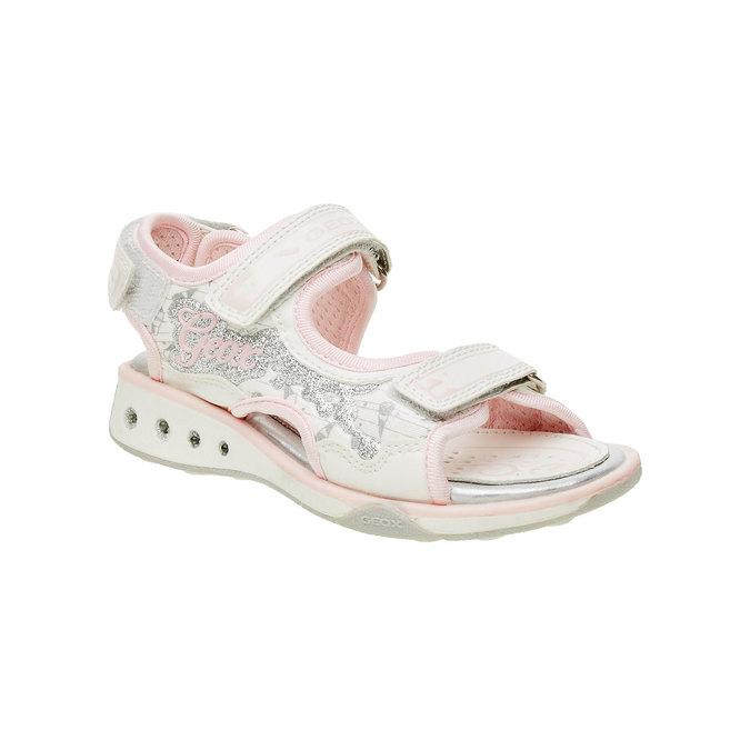 Dětské sandály geox, bílá, 329-1105 - 13