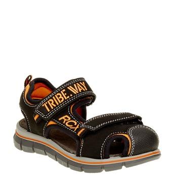 Dětské sandály mini-b, černá, 361-6120 - 13