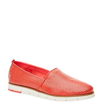 Dámské Slip on s pleteným vzorem flexible, červená, 515-5203 - 13