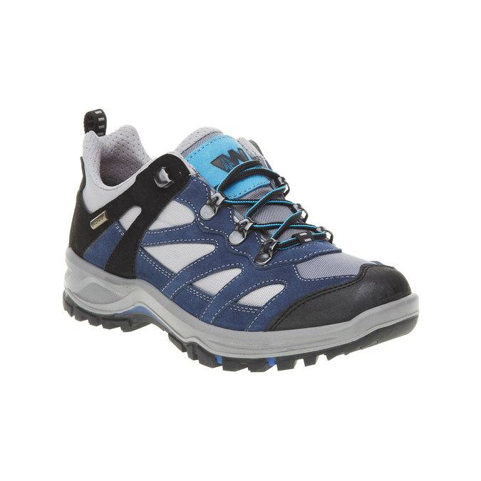 Kožené Outdoor boty, modrá, 543-9208 - 13