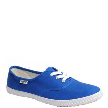 Plátěné tenisky tomy-takkies, modrá, 519-9106 - 13