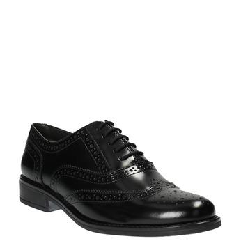 Dámské polobotky bata, černá, 524-6600 - 13