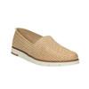 Dámské kožené Slip-On flexible, béžová, 515-8203 - 13