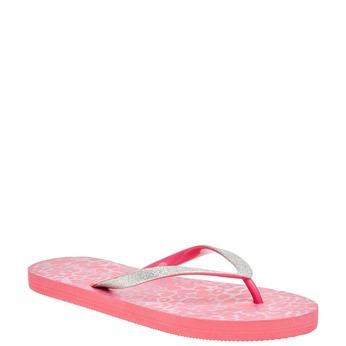 Dámské růžové žabky pata-pata, růžová, 581-5604 - 13