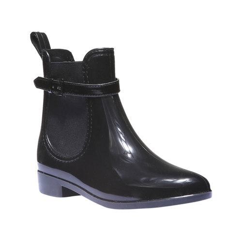 Lakované boty do deště Iris bata, černá, 592-6779 - 13