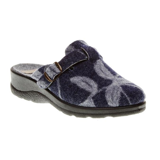 Domácí obuv bata, modrá, 579-9221 - 13