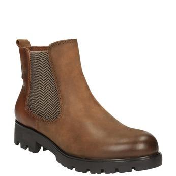 Dámská kotníčková obuv bata, hnědá, 696-4606 - 13