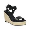 Dámské sandály na platformě gant, černá, 764-6014 - 13
