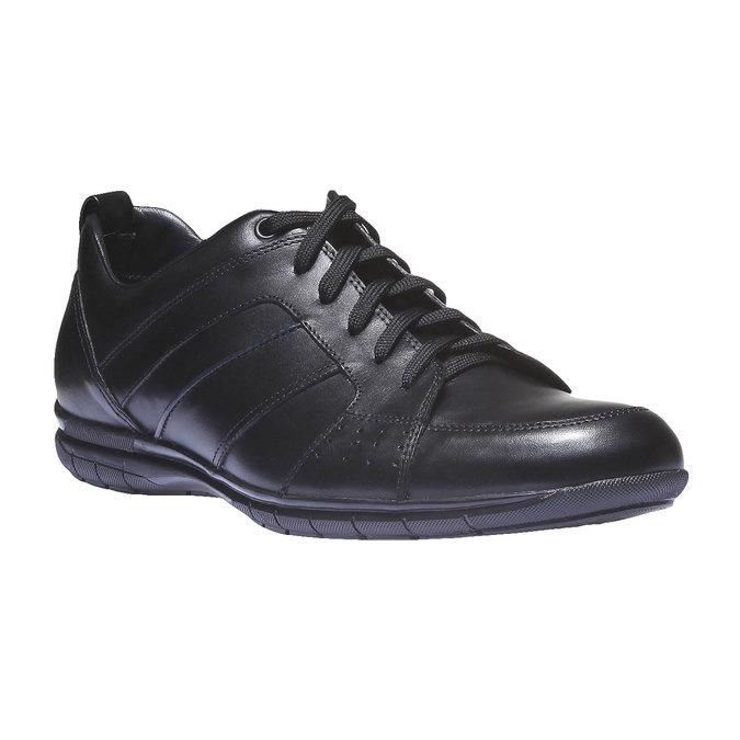 Kožené tenisky bata, černá, 824-6351 - 13