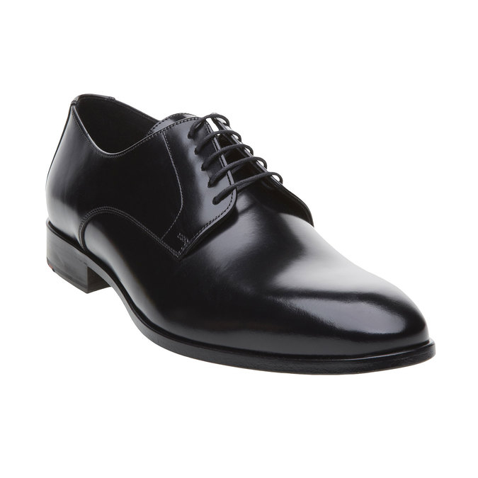 Pánská obuv ve stylu Derby lloyd, černá, 824-6338 - 13
