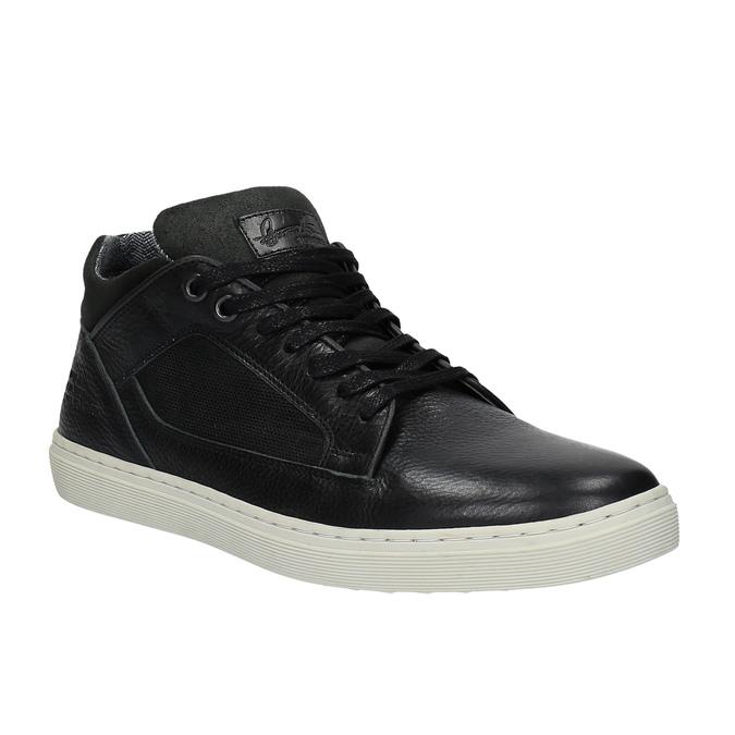 Pánské ležérní tenisky bata, černá, 844-6624 - 13