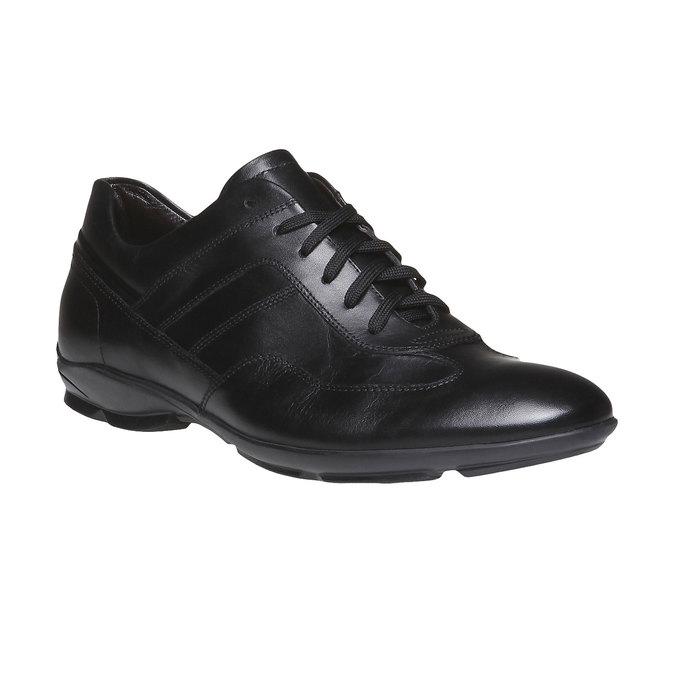 Ležérní kožené polobotky bata, černá, 824-6988 - 13