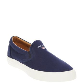Pánská obuv Slip on gant, modrá, 839-9005 - 13