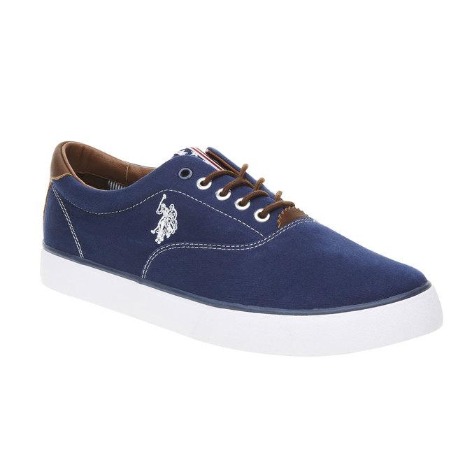 Ležérní pánské tenisky u-s-polo-assn-, modrá, 849-9001 - 13