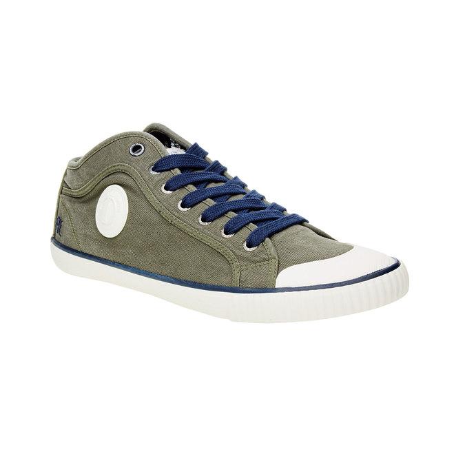 Pánské kotníčkové tenisky pepe-jeans, zelená, 849-7013 - 13