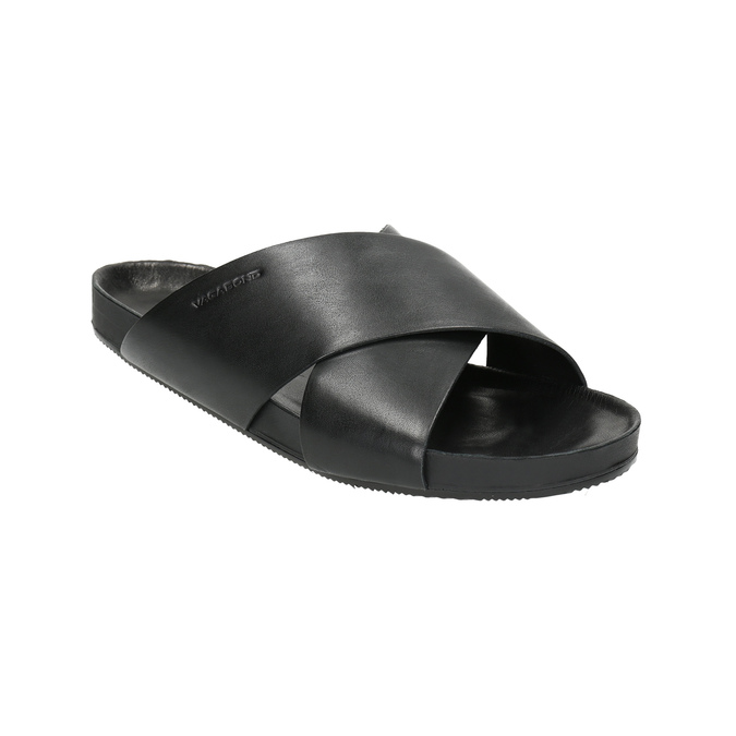 Kožené nazouváky vagabond, černá, 864-6008 - 13