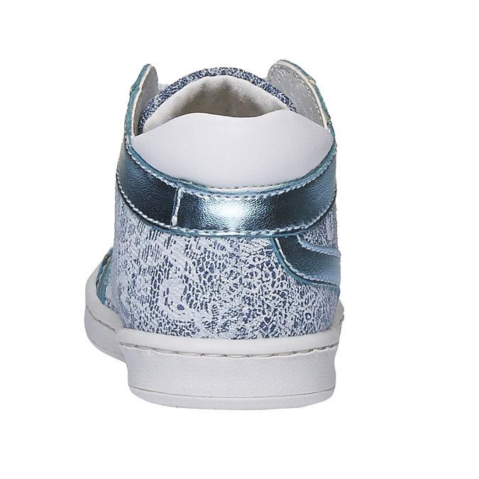 Dětské kotníčkové tenisky bubblegummer, modrá, 129-9146 - 17