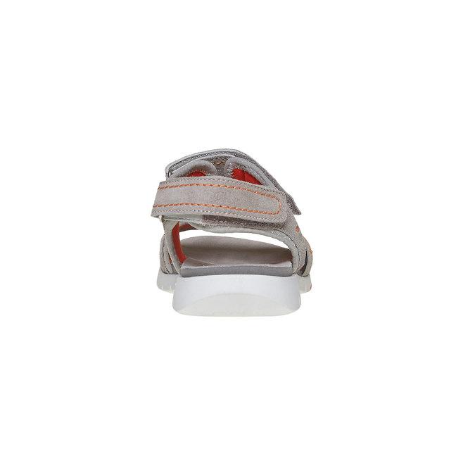 Dětské sandály flexible, šedá, 363-2188 - 17