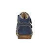 Dětská kožená obuv nad kotníky richter, modrá, 194-9001 - 17