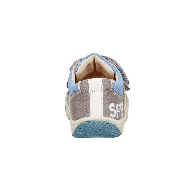 Dětské boty na suché zipy mini-b, šedá, 111-2104 - 17
