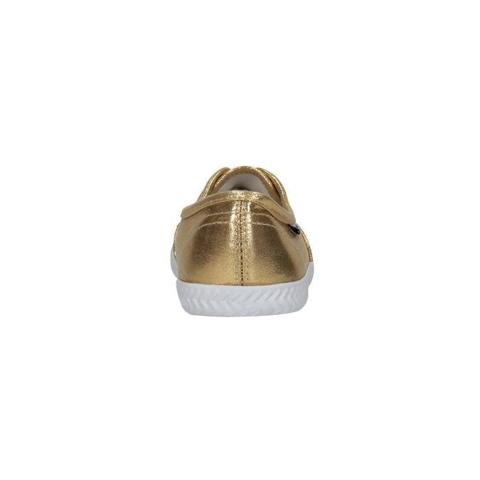 Zlaté dámské tenisky tomy-takkies, zlatá, 519-8690 - 17
