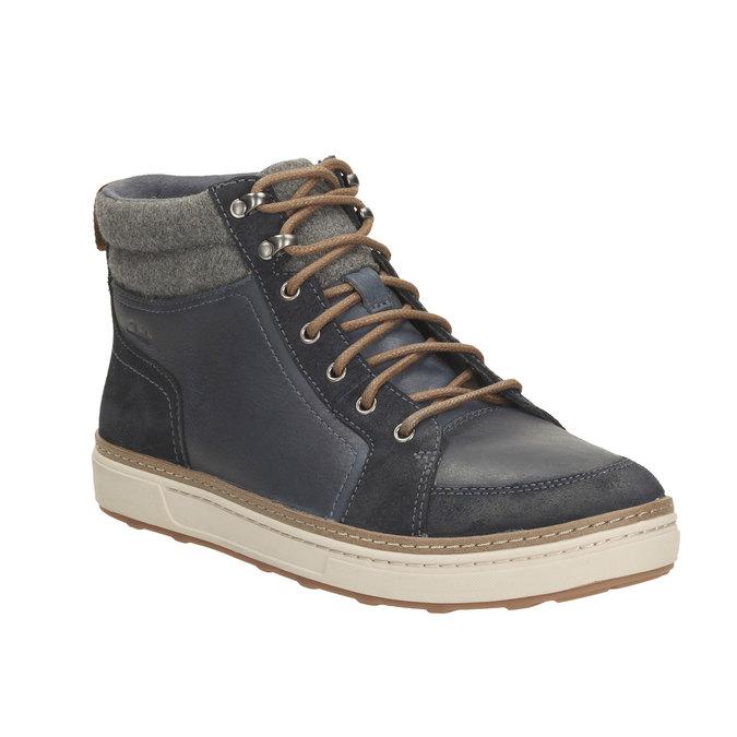 Mens Sneakers clarks, šedá, 894-9398 - 13