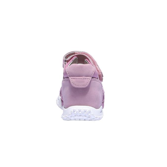 Dívčí sandály mini-b, červená, 161-5116 - 17