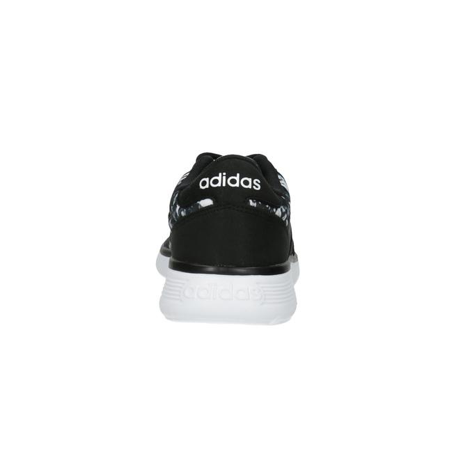 Dámské sportovní tenisky s potiskem adidas, černá, 509-6535 - 17