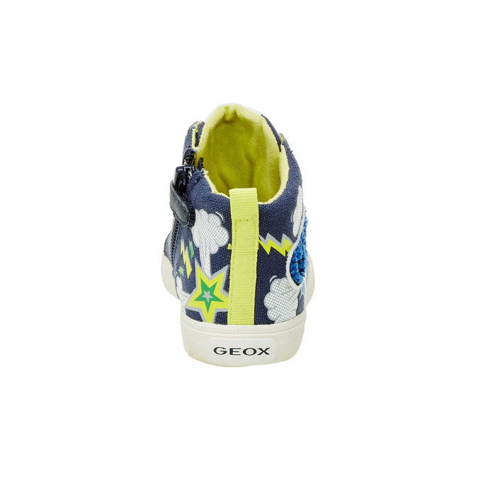 Dětské kotníčkové tenisky geox, modrá, 319-9105 - 17