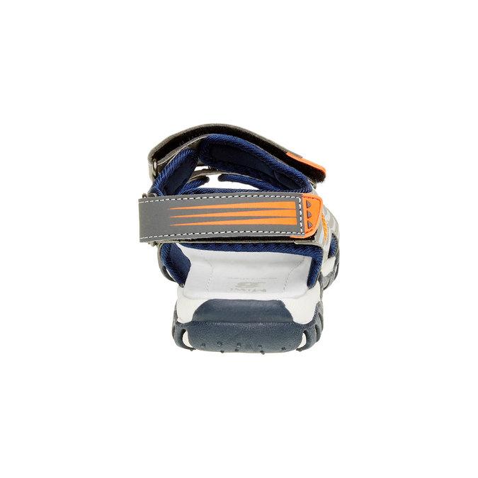 Dětské sandály mini-b, šedá, 261-2168 - 17