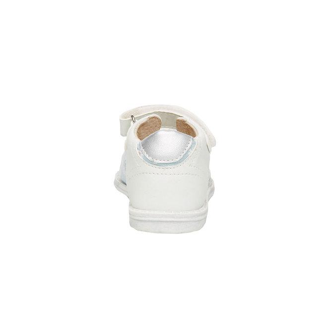 Dětské sandály mini-b, bílá, 169-1100 - 17