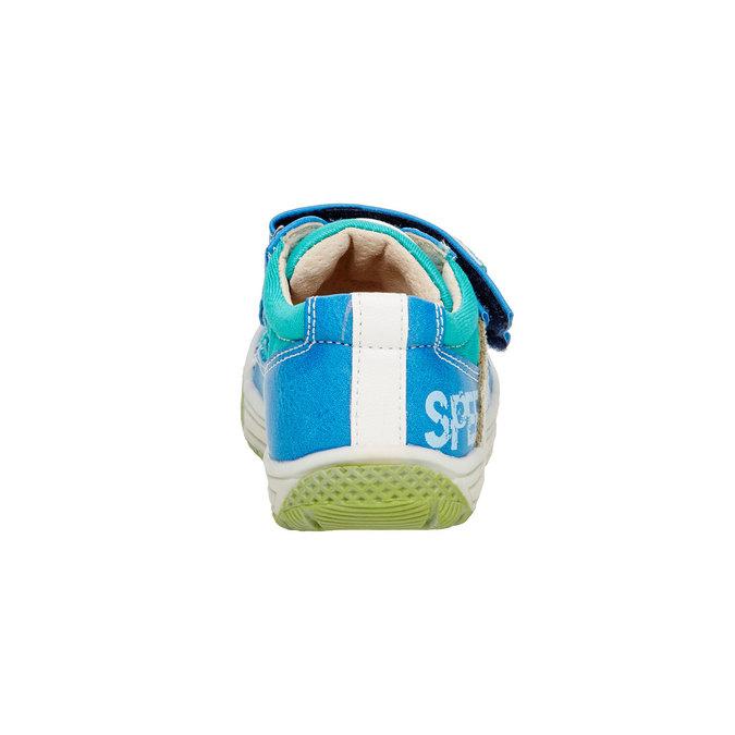 Dětské boty na suché zipy mini-b, modrá, 111-9104 - 17