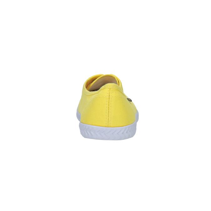 Žluté dámské tenisky tomy-takkies, žlutá, 519-8691 - 17