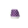Dětská domácí obuv s puntíky bata, fialová, 279-9103 - 17