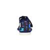 Dětská domácí obuv bata, černá, 179-9005 - 17