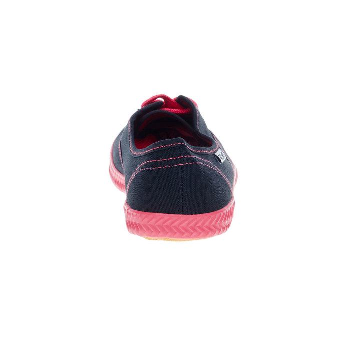 Černé textilní tenisky tomy-takkies, černá, 519-6109 - 17